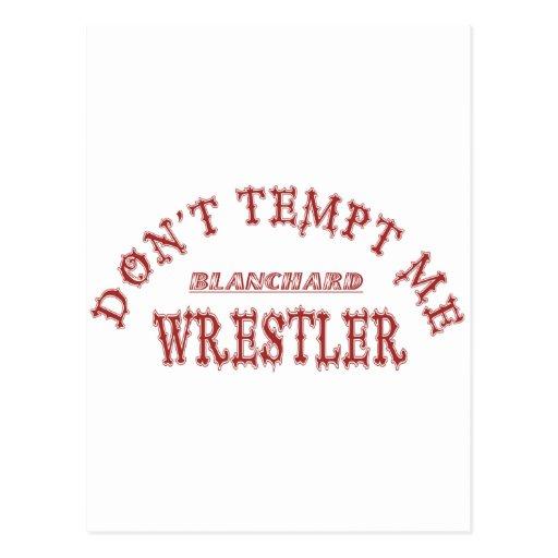 Luchador de Blanchard Tarjetas Postales