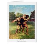 Luchador de Courbet Gustavo Tarjeton