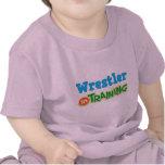 Luchador en el entrenamiento (futuro) camiseta