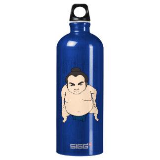 Luchador japonés del sumo del dibujo animado