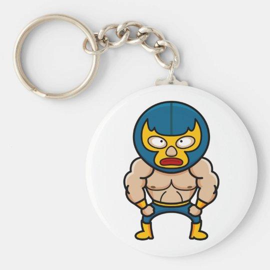Luchador Keychain