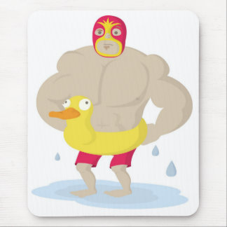 Luchador Mouse Pad