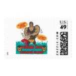 Luchador Noche Postage Stamp