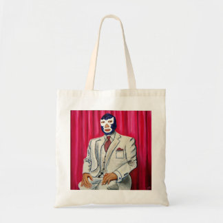 Luchador Tote Bag