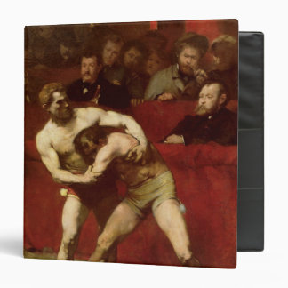 """Luchadores, 1875 carpeta 1 1/2"""""""