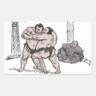 Luchadores del sumo rectangular altavoces