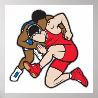 Luchadores Póster