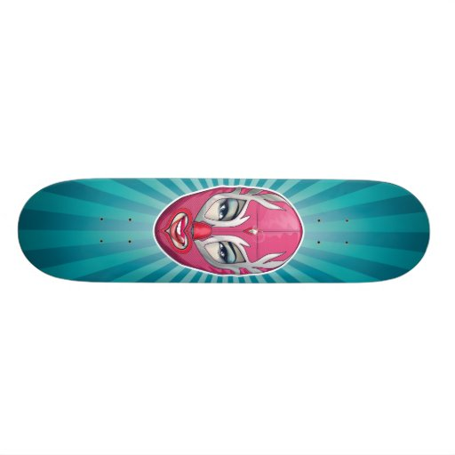 Luchagirl Skateboard
