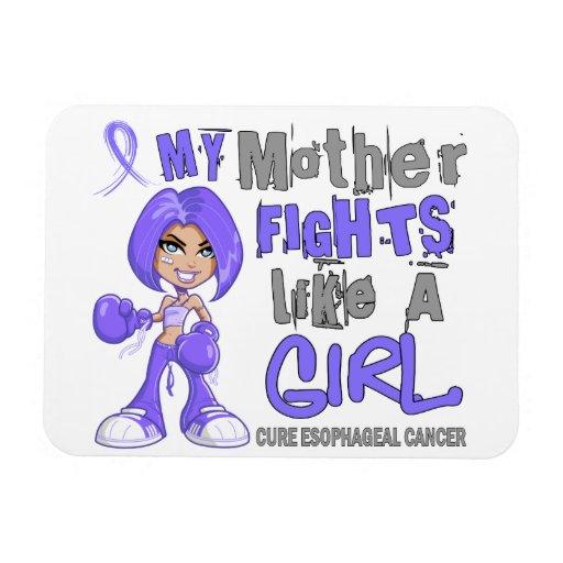 Luchas de la madre como cáncer del esófago del chi iman