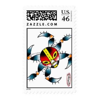 luchaspider, stamps