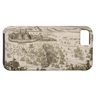 Luche cerca de la ciudad de Levice en 1664, illust iPhone 5 Case-Mate Cárcasa