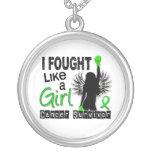 Luché como un linfoma Non-Hodgkin del chica 26S Joyeria