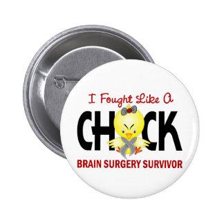 Luché como un superviviente de la neurocirugía del pin redondo 5 cm