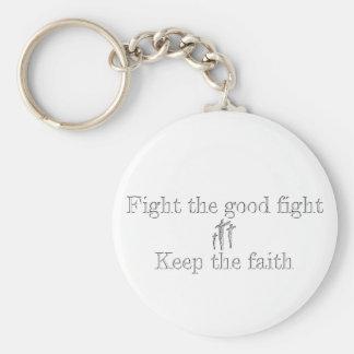 Luche el buen llavero de la lucha