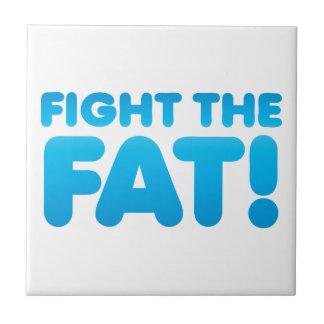 Luche el FAT Azulejo Cuadrado Pequeño