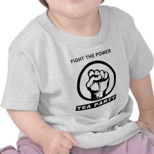Luche el poder camisetas