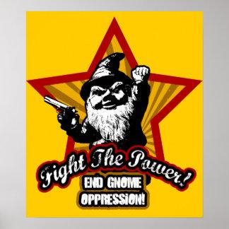 Luche el poster del poder