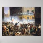 Luche en la ruda de Rohan, el 28 de julio de 1830, Póster