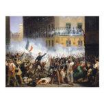 Luche en la ruda de Rohan, el 28 de julio de 1830, Tarjetas Postales