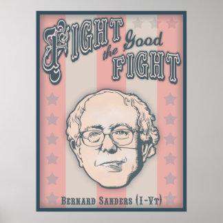 Luche la buena lucha póster
