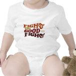 Luche la buena lucha traje de bebé