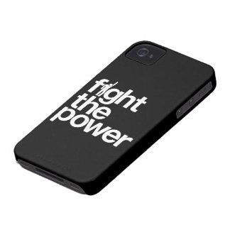Luche la caja de la casamata del iPhone 4 del pode iPhone 4 Protector