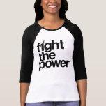 Luche la camisa del poder