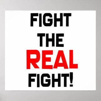 ¡Luche la lucha REAL! Poster