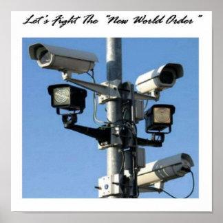 Luchemos el nuevo orden mundial posters
