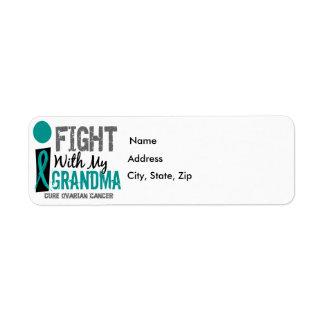 Lucho con mi cáncer ovárico de la abuela etiquetas de remite