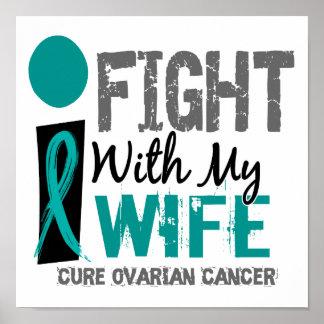 Lucho con mi cáncer ovárico de la esposa poster