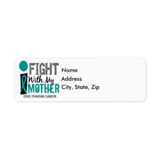 Lucho con mi cáncer ovárico de la madre etiqueta de remite