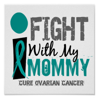 Lucho con mi cáncer ovárico de la mamá poster