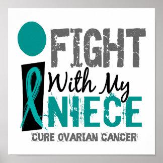 Lucho con mi cáncer ovárico de la sobrina impresiones