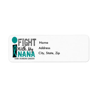 Lucho con mi cáncer ovárico de Nana Etiquetas De Remite