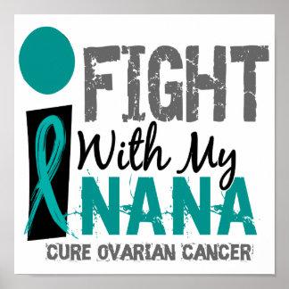 Lucho con mi cáncer ovárico de Nana Poster