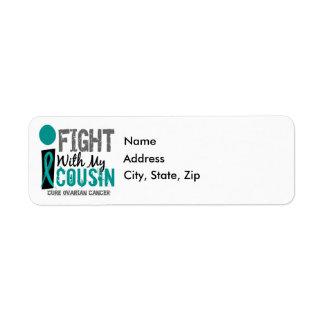 Lucho con mi cáncer ovárico del primo etiqueta de remite