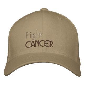 Lucho el casquillo bordado cáncer gorra bordada