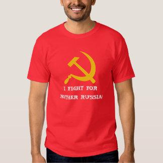 ¡LUCHO PARA LA MADRE RUSIA! POLERAS