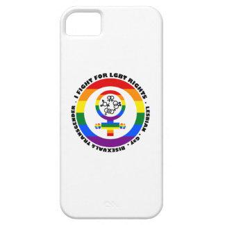 Lucho para las derechas de LGBT iPhone 5 Case-Mate Cobertura