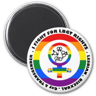 Lucho para las derechas de LGBT Imán De Frigorífico