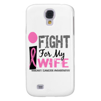 Lucho para mi cáncer de pecho de la esposa