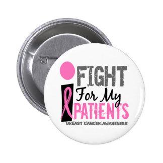Lucho para mi cáncer de pecho de los pacientes pins