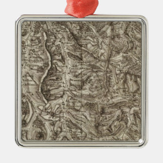 Luchon, Bareges, Bagneres Metal Ornament