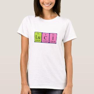 Luci periodic table name shirt