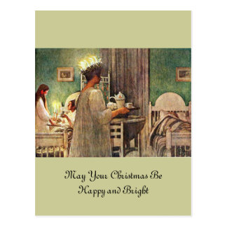 Lucia Day Postcard