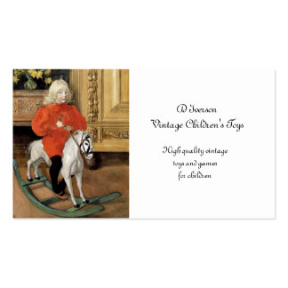 Lucia Day Rocking Horse Business Card Templates