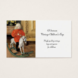 Lucia Day Rocking Horse Business Card