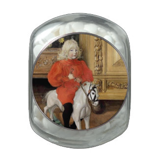 Lucia Day Rocking Horse Glass Jars