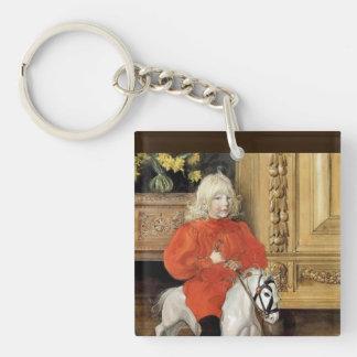 Lucia Day Rocking Horse Keychain